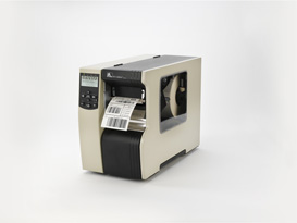 R16-801-00184-R0 ZEBRA, DISCONTINUED, REFER TO R16-801-00174-R0, R110Xi4, RFID PRINTER, 600DPI, SERIAL, PARALLEL, USB, CUTTER WITH CATCH TRAY, 64MB FLASH WITH PRINTHEAD ELEMENT OUT DETECTION, CLEAR BI-FOLD MEDIA SIDE DOOR AND 3IN MEDIA SUPPLY SPINDLE