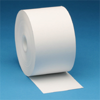 """8003 THERMAMARK, DISCONTINUED, REFER TO RPT4.375-82, CONSUMABLES, RECEIPT PAPER, BLACK IMAGE DIRECT THERMAL, 4.375"""" X 82"""", 0.4375"""" CORE, 1.875"""" OD, 50 ROLLS PER CASE, PRICED PER ROLL"""