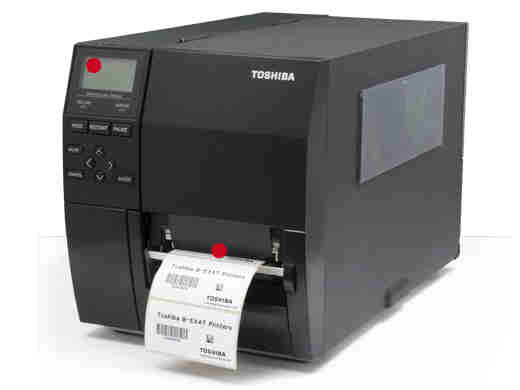 B-EX4T1-GS12-QM-R TOSHIBA, REFER TO B-EX4T1-GS12-QM-R (D) ONCE STOCK IS DEPLETED, B-EX4T 4IN PRINTER DT/TT 203DPI 14IPS LAN USB B-EX4T 4 WIDE, 203 DPI, 14 IPS, LAN, USB