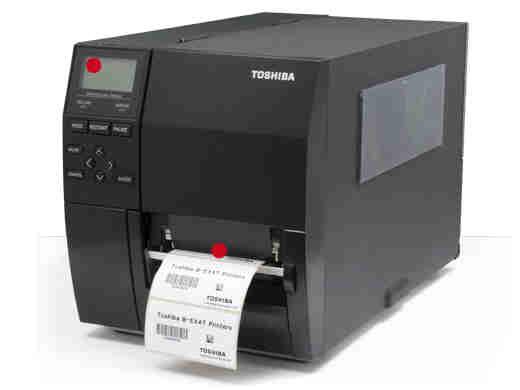 B-EX4T1-GS12-QM-R TOSHIBA, B-EX4T 4IN PRINTER DT/TT 203DPI 14IPS LAN USB
