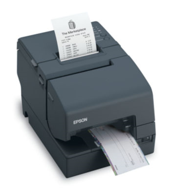 C31C625A8651 POS HYB-PNTR  MICR EP UB-U19 TM-H6000III Multifunction Printer (TransScan with MICR and Endorsement, Serial and USB Interfaces - Requires Power Supply) - Color: Dark Gray H6000III U19 EDG PS-180 NOT INCL TRANSSCAN MICR END Epson TM-H Printers H6000III,TRANSSCAN,MICR/EN,USB,EDG,NO PS H6000III,TRANSSCAN W/MICR & ENDORSE,EDG,USB/SERIAL,NEED PS H6000III TransScan, MICR & Endorsement, Serial, Dark Gray, No Power Supply