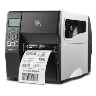 Zebra ZT230 4IN 300DPI Direct Thermal Printer Tear Power Cord With US Plug Serial USB Internal